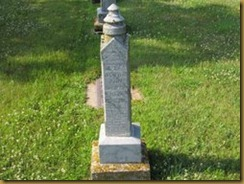Henry Adolph Olson Gravestone 1
