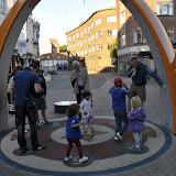 En sjov gagdet i Odense, der må danses freestyle stopdansog så siger en stemme hvem der har vundet :-) Ret sjovt!