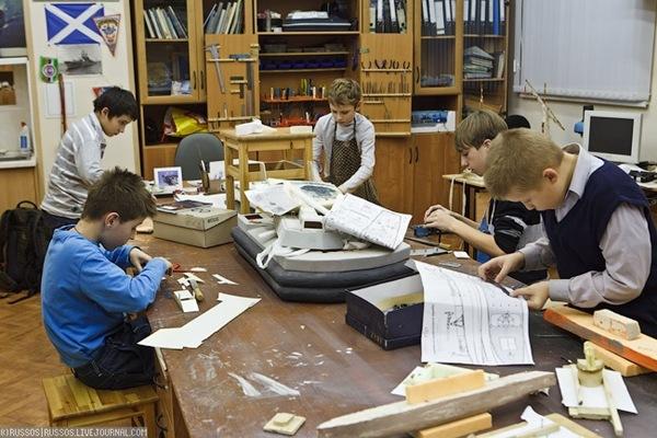 Ecole de modélisme en Russie (2)