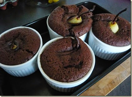 pear and chocolate pudding3