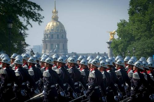 Франция отметила День взятия Бастилии традиционным парадом