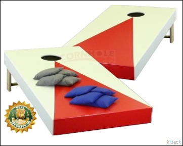 Pyramid Triangle Cornhole Boards from Cornhole.com