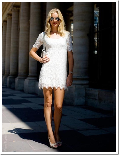Street-Style-White-lace-dress