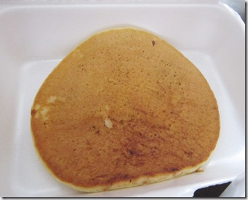 kfc chocolate chip pancake, 240baon