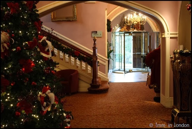 The foyer of the Culloden Estate and Spa