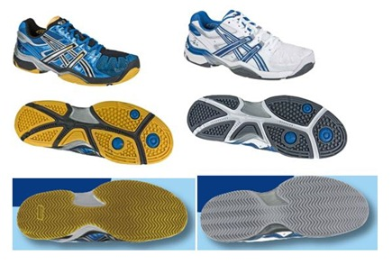 ASICS GEL-BELA 2, las nuevas zapatillas de Fernando Belasteguin en azul eléctrico y amarillo suelas