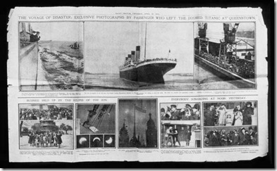Titanic Daily Sketch Feature. 18 April 1912