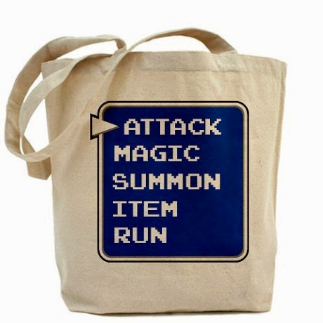 Final Fantasy Action Menu Bag from O.C.P.