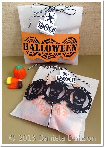 Halloween treat bags by Daniela Dobson