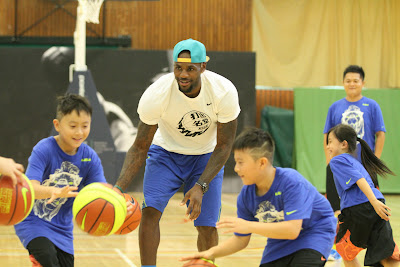 other event 140724 lebron rise tour asia 2 03 LeBron James Sneaker Rotation During 2014 Rise Tour in Asia