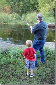 Fishing with Uncle Pat