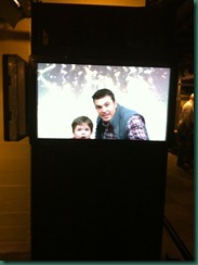 jake and dad tv at MOD