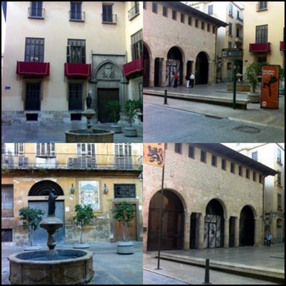 28 - La plaza de San Luis Beltran