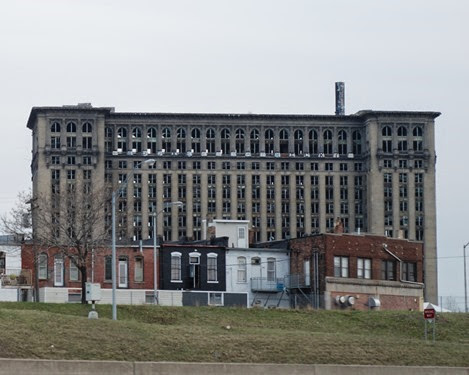 Michigan Central Station Crime