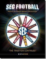SEC 2012 media guide cover