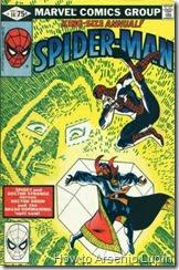 The amazing spider-man annual #14, la vida amorosa de spidey es de lo mas atormentada posible, sumenle a eso una onda siniestra que destruira al mundo son motivos para ver que se puede hacer, ¿alguien sabe lo que es la onda siniestra?