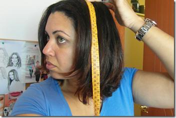 fita metrica cabelo