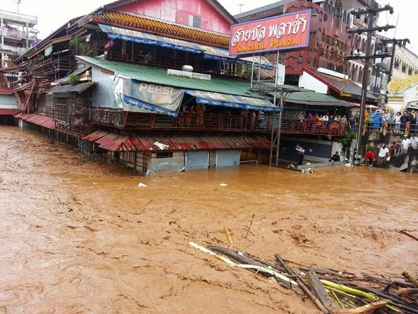 Flooding in Mae Sai