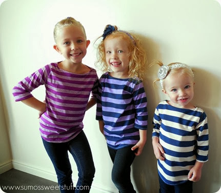 Little Girl Fashion - Beachy Boatnecks by www.SumosSweetStuff.com