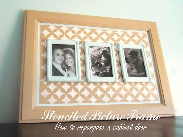46 Stenciled Frame