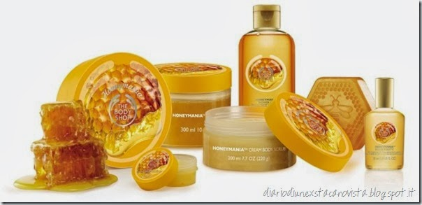 the body shop honeymania