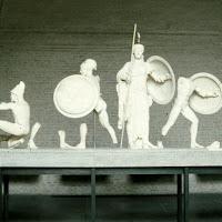 36.- Egina. Frontón del templo de Aphaia
