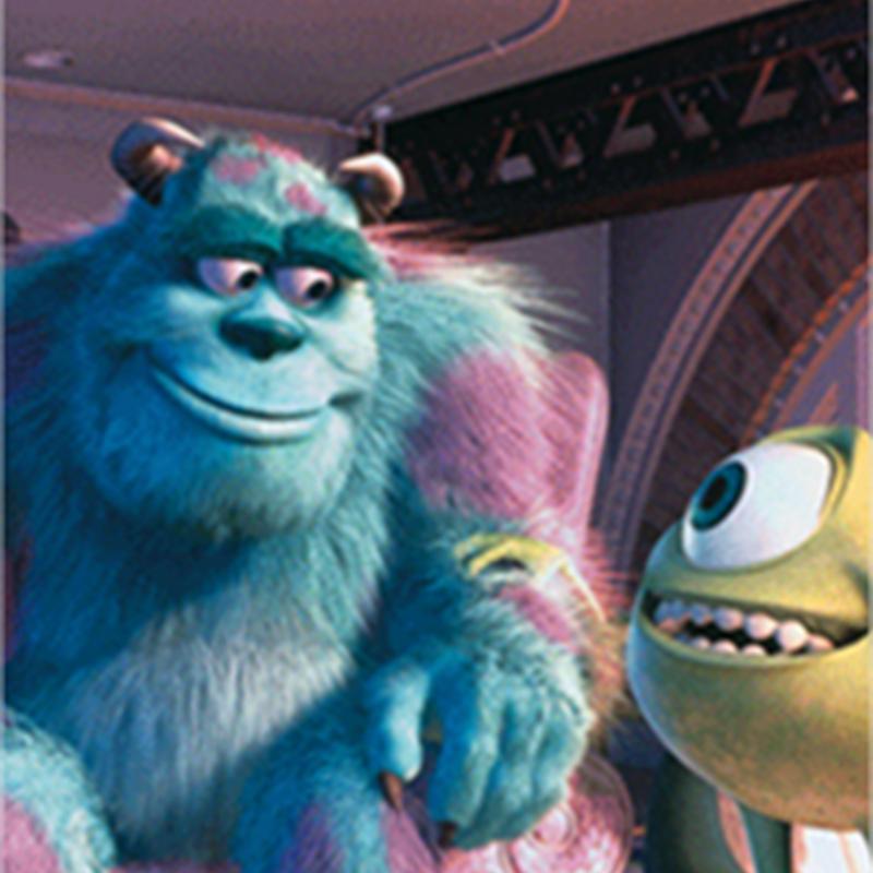 El proceso de realización de la película Monsters Inc