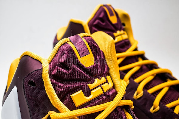 First Look at Nike LeBron 11 Christ the King Home PE