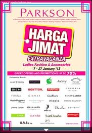 Parkson Harga Jimat Extravaganza Jan 2013 - Parkson Malaysia Branded Shopping Save Money EverydayOnSales