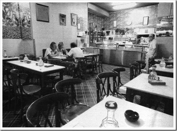 Horchateriìa El Rincoìn Valenciano. Interior, 1985