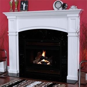 Fireplace Idea - 02 (mantel)
