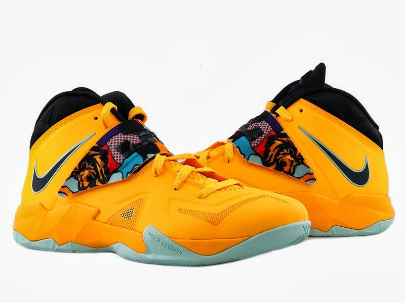 ... Upcoming LeBron Nike Zoom Soldier VII 8220Pop Art8221 8211 New Pics ... 64775750a865