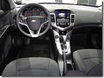 Novo Cruze hatch interior