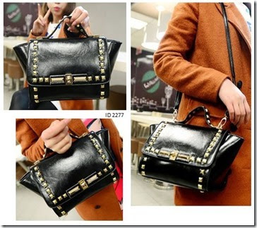 ID 2277 (259.000) - PU Leather, 22 x 18 x 9, tali panjang