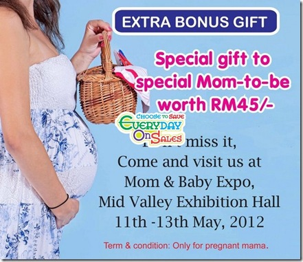Mom-Baby-Expo-Giveaway-Pregnant-Mama-2012-choose-to-save-everyday-on-sales