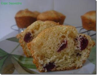 muffins arandanos corte