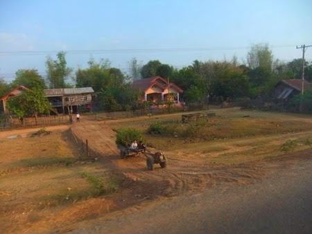 entre Savannakhet y Pakse, Laos