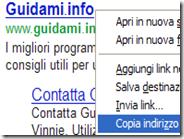 Copiare i link dei risultati di ricerca Google nel formato originale