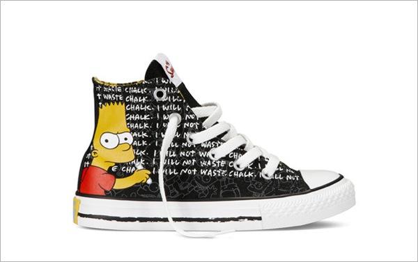 Simpsons Sneakers converse 6
