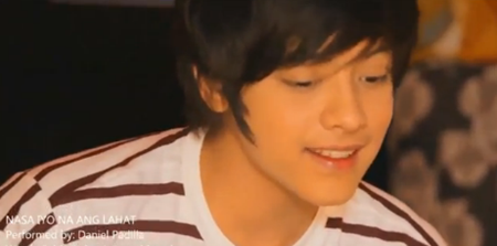 Daniel Padilla in Nasa Iyo Na Ang Lahat music video