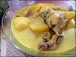 Pelegong Hometay: Chicken Curry