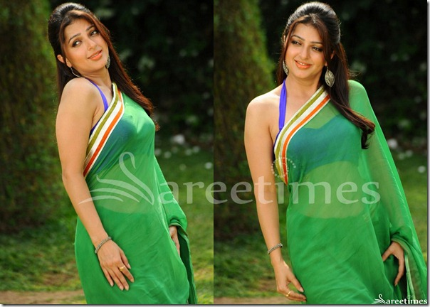 Bhumika_Green_Saree