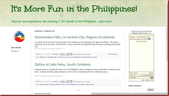 more fun in the philippines website _ i heart Pilipinas