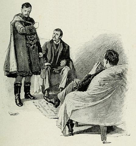 sherlock meeting with the king of bohemia