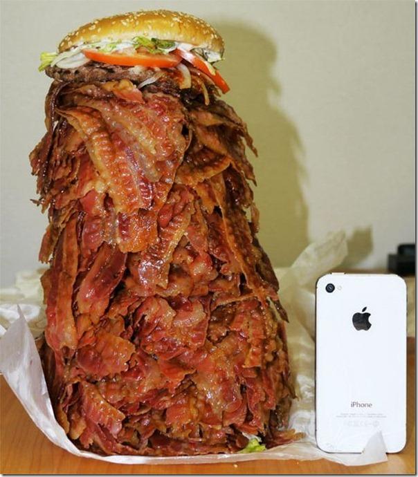 Hamburguer com 1.050 tiras de bacon (1)