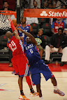 lebron james nba 130217 all star houston 73 game 2013 NBA All Star: LeBron Sets 3 pointer Mark, but West Wins