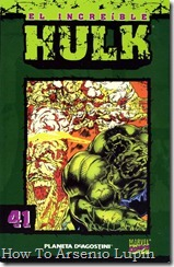 P00041 - Coleccionable Hulk #41 (de 50)