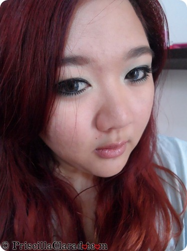 Park Bom Inspired Makeup Falling in Love Priscilla FOTD
