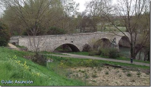 Puente medieval de Miluce - Pamplona