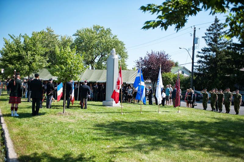 Commémoration Dieppe 18 Août 2013
